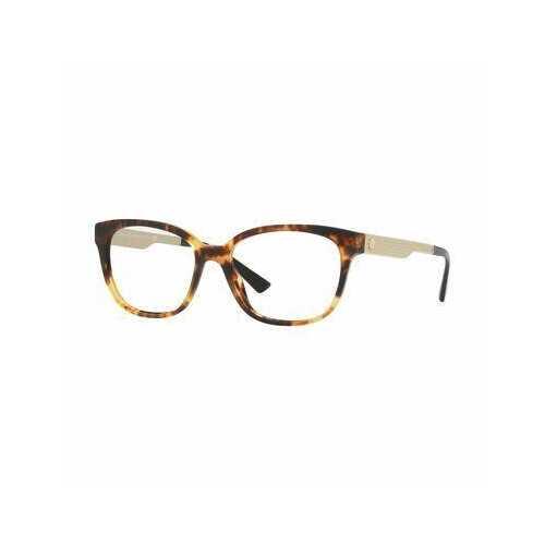 Versace VE3240-5208 Havana Women's Square Plastic Eyeglasses