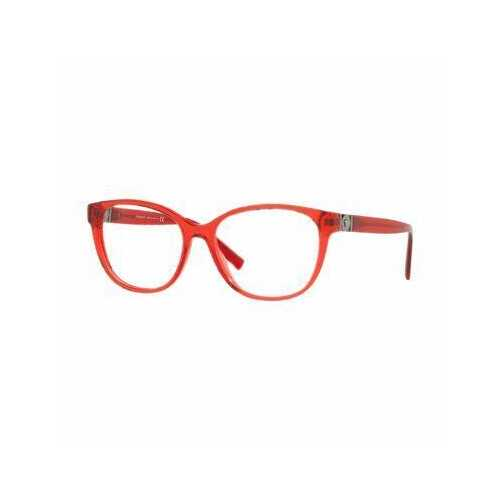Versace VE3273-5307 Transparent Red Round Women's Plastic Eyeglasses