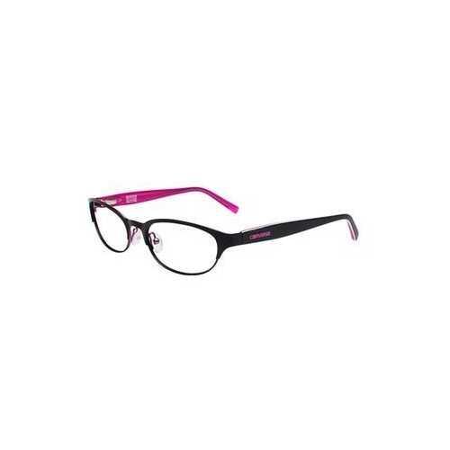 Converse Q010 Black Oval Women's Metal Eyeglasses