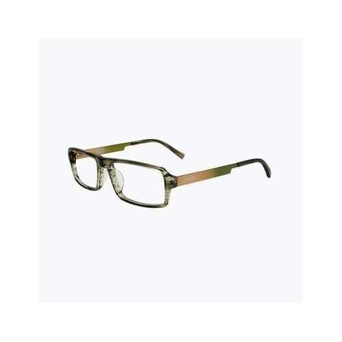Converse Q015 UF Olive Stripe Rectangular Men's Acetate Eyeglasses