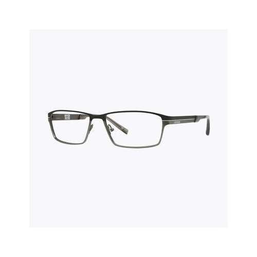 Converse Q019 Black Rectangular Men's Metal Eyeglasses