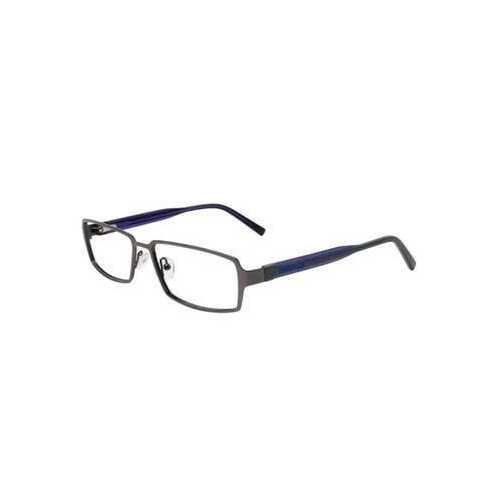 Converse Q026 Gunmetal Rectangular Men's Metal Eyeglasses