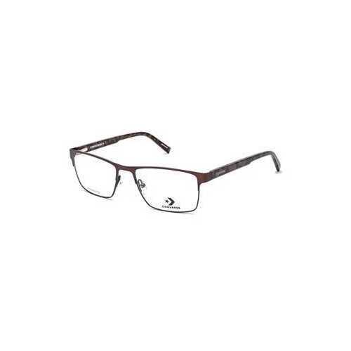 Converse A216 Brown Rectangular Unisex Metal Eyeglasses