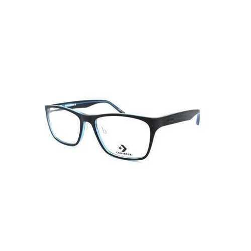 Converse A223 Black Blue Square Men's Acetate Eyeglasses