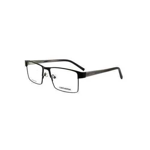Converse A224 Black Square Men's Metal Eyeglasses