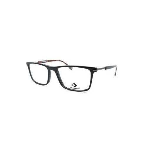 Converse A227 Black Square Men's Acetate Eyeglasses