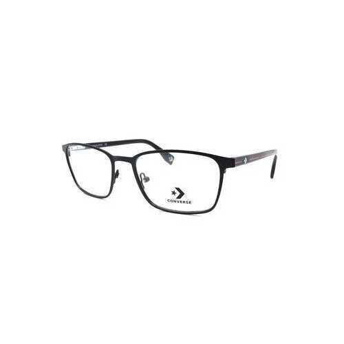Converse A228 Black Square Men's Metal Eyeglasses