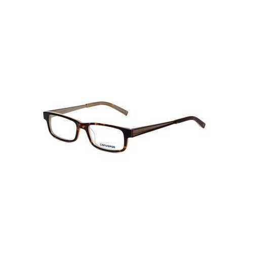 Converse City Limits Tortoise Rectangular Unisex Acetate Eyeglasses