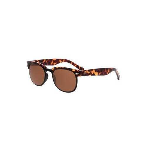 Converse H063 Tortoise Square Brown Lens Men's Acetate Sunglasses