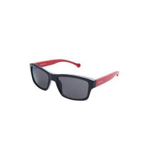 Converse SCO080Q Black Red Rectangular Black Lens Men's Sunglasses