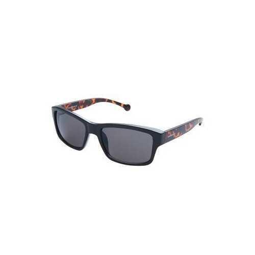 Converse SCO080Q Black Tortoise Rectangular Black Lens Men's Sunglasses