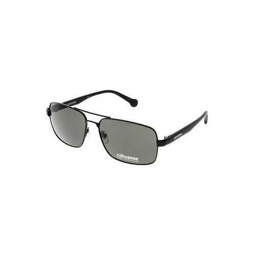 Converse H014 Matte Black Square Men's Metal Eyeglasses