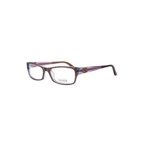 Guess GU-2373-D96 Brown Rectangular Women's Acetate Eyeglasses