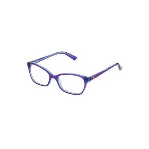 Guess GU-2466-PRBL Purple Square Women's Acetate Eyeglasses