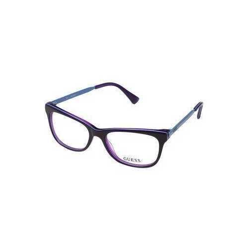 Guess GU-2487-081 Purple Square Women's Acetate Eyeglasses