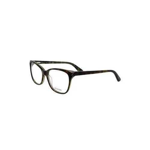 Guess GU-2494-056 Havana Square Women's Acetate Eyeglasses