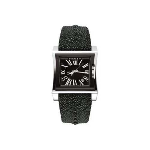 Bedat & Co. 114.062.300 No. 1 Black Dial Men's Crocodile Leather Automatic Watch