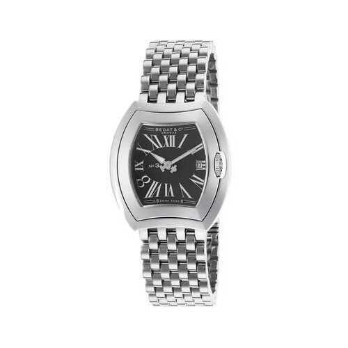 Bedat No. 3 Stainless Steel Black Dial Ladies Watch 334.011.301