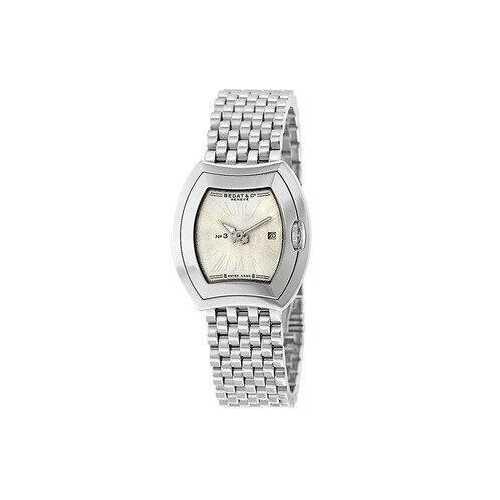 Bedat & Co. 334.011.100 No. 3 Stainless Steel Silver Dial Women's Quartz Watch