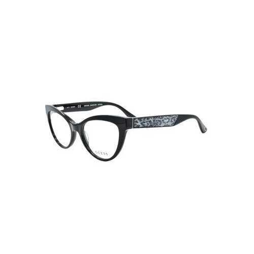 Guess GU-2623-005 Black Cat-Eye Women's Acetate Eyeglasses