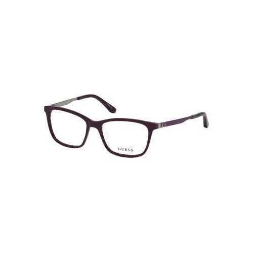 Guess GU-2630-083 Matte Blue Square Women's Acetate Eyeglasses