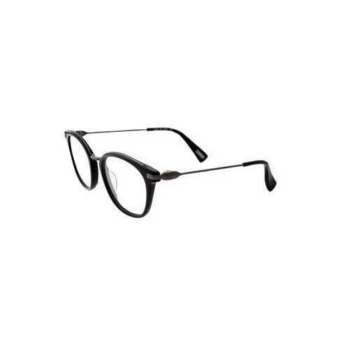 Lanvin VLN 085M-0568 Black Square Unisex Acetate Eyeglasses