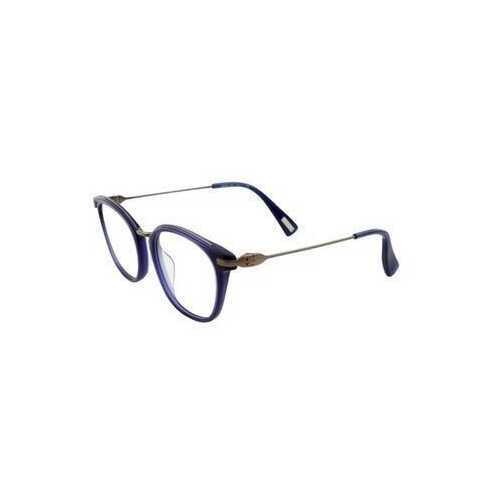 Lanvin VLN 085M-509Y Blue Square Unisex Acetate Eyeglasses