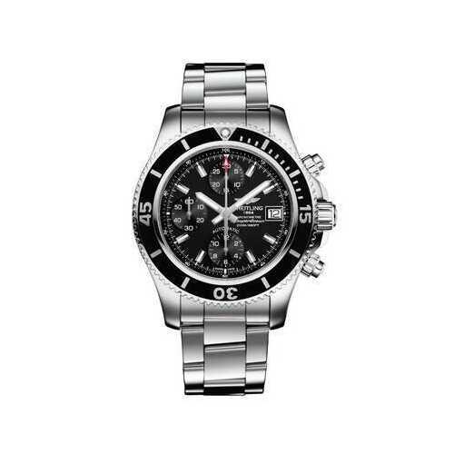 Breitling A13311C9 Superocean Chronograph Silvertone Automatic Men's Watch