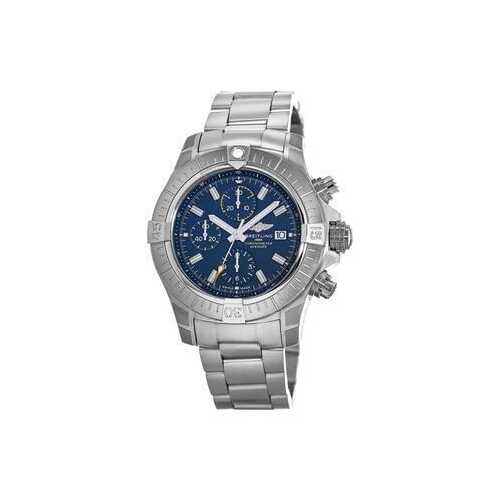 Breitling A13317101C1A1 Avenger Chronograph Stainless Steel Blue Dial Men's Chronograph Watch