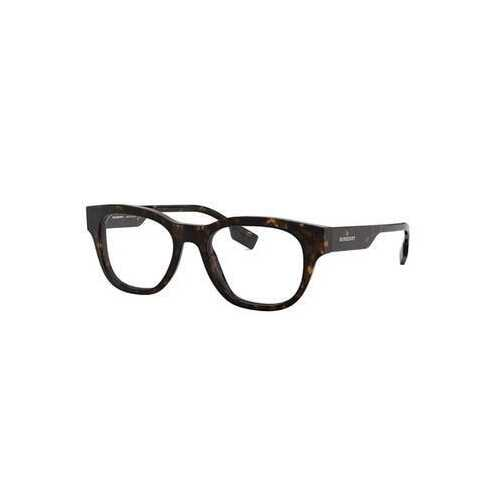 Burberry BE2306-3002 Dark Havana Square Men's Acetate Eyeglasses