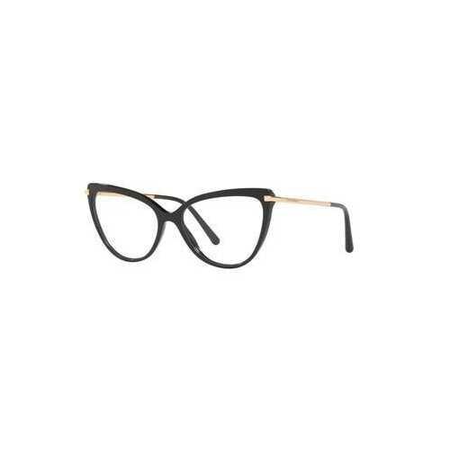 Dolce & Gabbana DG3295-501 Black Cat-Eye Women's Acetate Eyeglasses