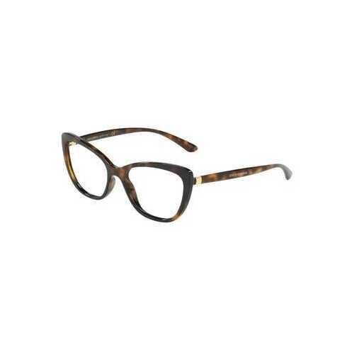 Dolce & Gabbana DG5039-502 Havana Cat-Eye Women's Acetate Eyeglasses