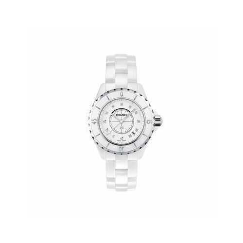 Chanel H1628 J12 Diamonds Ladies Watch