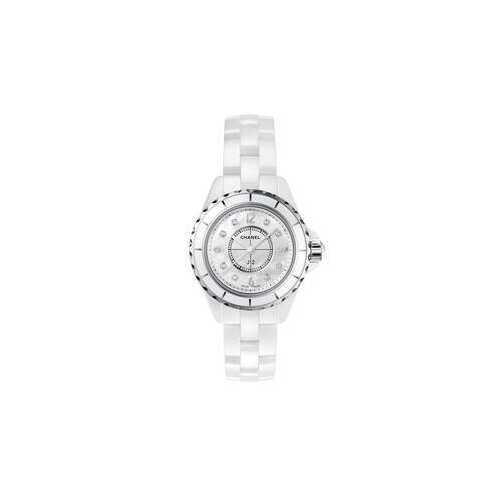 Chanel H2570 J12 Mother of Pearl White Ceramic Ladies Watch