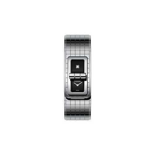 Chanel H5144 Code Coco Black Lacquered Dial Ladies Watch