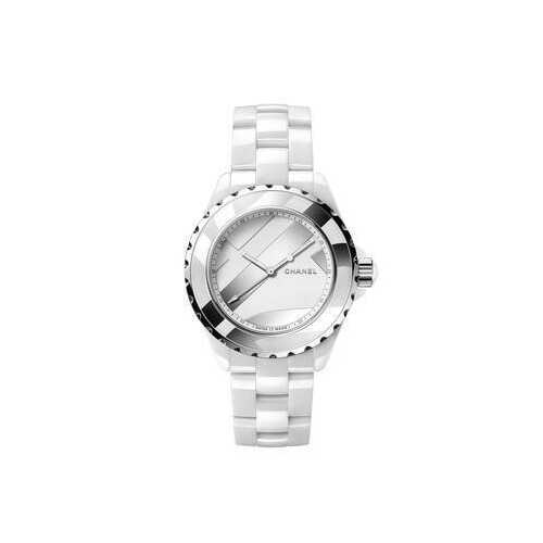 Chanel H5582 J12 Untitled White Ceramic Ladies Watch