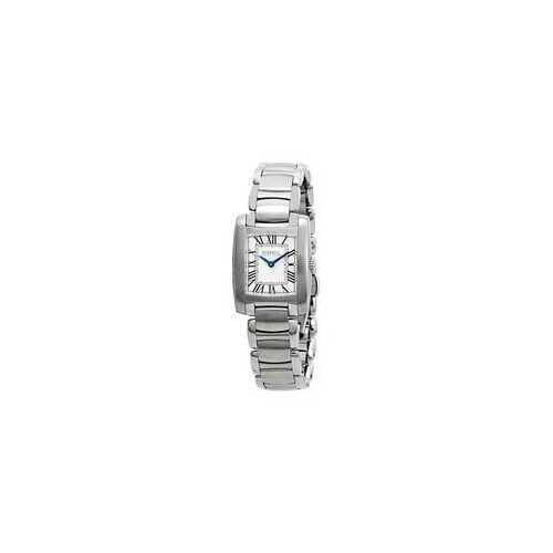 Ebel 1216033 Brasilia Silver Dial Stainless Steel Ladies Watch