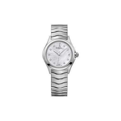Ebel 1216267 Wave Mother of Pearl Diamond Dial Ladies Watch