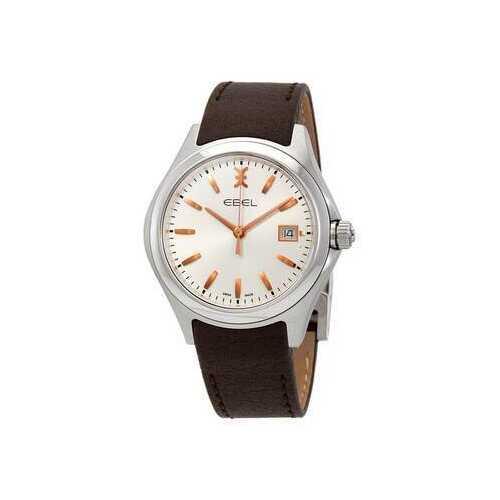 Ebel 1216330 Wave Silver Galvanic Dial Men's Watch