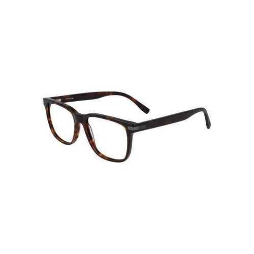Lacoste L2840-220 Dark Havana Square Men's Acetate Eyeglasses