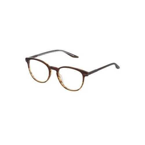 Lanvin VLN 737-0D83 Brown Square Unisex Acetate Eyeglasses