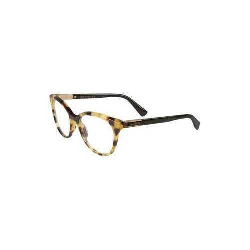 Lanvin VLN 709-777 Tortoise Cat-Eye Women's Acetate Eyeglasses