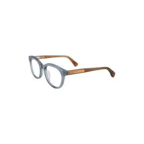 Lanvin VLN 714M-09AB Sea Green Round Unisex Acetate Eyeglasses