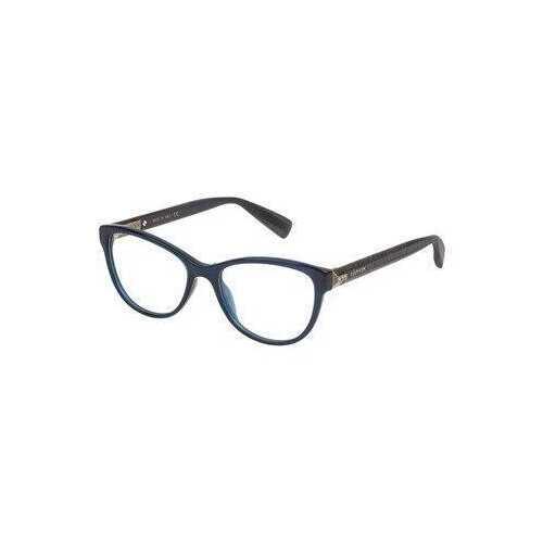 Lanvin VLN 707S-0955 Blue Cat-Eye Women's Acetate Eyeglasses