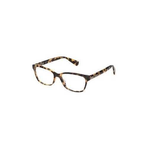 Lanvin VLN 706S-0777 Brown Honey Havana Rectangular Women's Acetate Eyeglasses