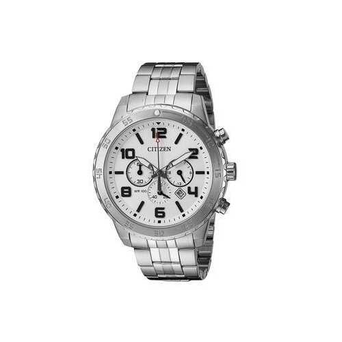 Citizen AN8130-53A Stainless Steel Silver Dial Men's Chronograph Watch