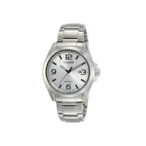 Citizen AW1430-51A Stainless Steel Silver Dial Men's Eco-Drive Watch