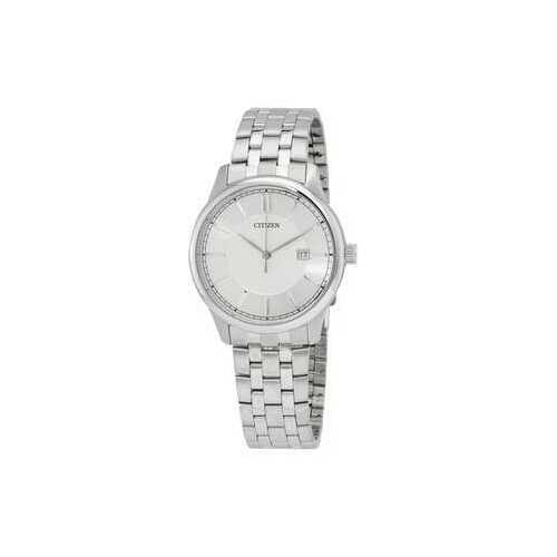 Citizen BI1050-56A Stainless Steel Silver Dial Men's Quartz Watch