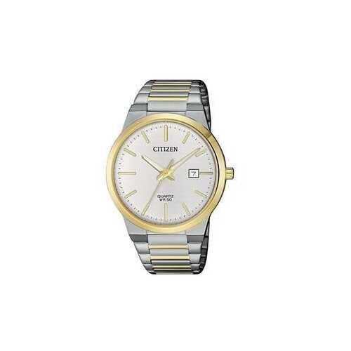Citizen BI5064-50A Two Tone Stainless Steel Silver Dial Men's Watch