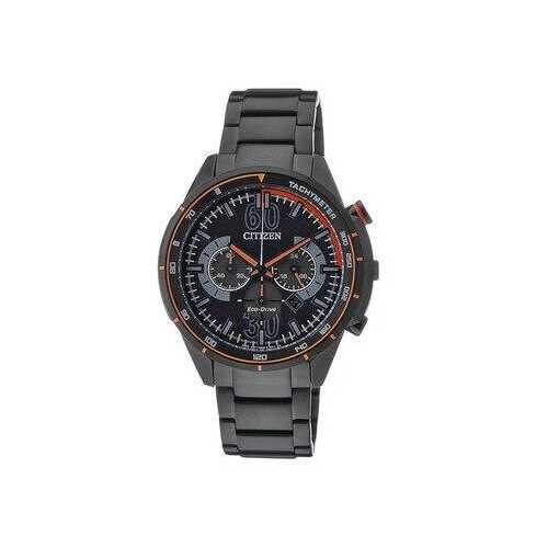 Citizen CA4125-56E Black IP Stainless Steel Men's Chronograph Tachymeter Watch